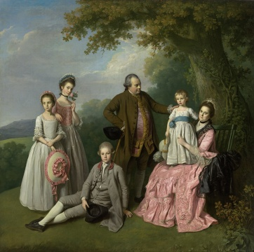 https://commons.wikimedia.org/wiki/File:Nathaniel_Dance_-_The_Pybus_family_-_Google_Art_Project.jpg Nathaniel Dance - The Pybus family